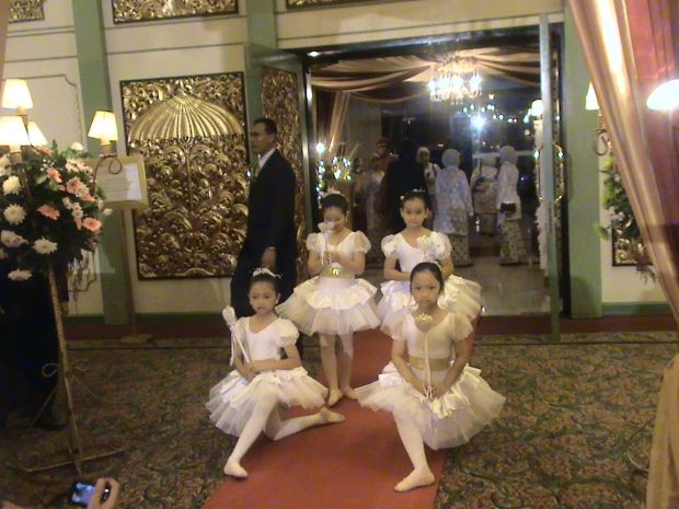 children balerina wedding entertainment jakarta