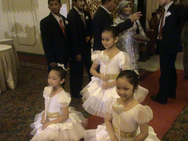 children ballerina wedding entertainment jakarta